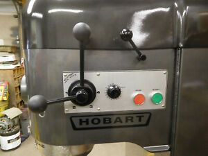 Hobart 140qt V1401 With Guard New Nsf Bowl Dough Hook 220 Or 460 Volt 3 Ph