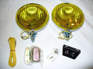 5 1 2 Fog Light Set For Vintage British Cars And Other Sports Cars