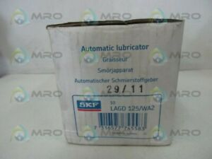 Skf Lagd 125 wa2 Automatic Lubricator Box Of 10 New In Box