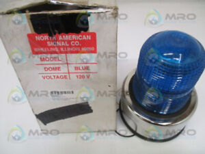 North American Signal Stm1 acb Blue Strobe Light new In Box