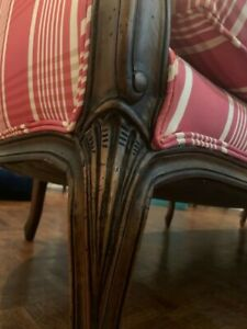 Stunning Antique Carved French Louis Sofa 6ft