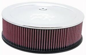 K N Filters 60 1235 Custom Air Cleaner Assembly