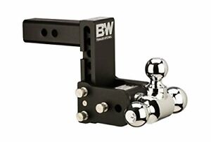 B w Ts20049b High Quality Tow And Stow Receiver Hitch Tri ball With 2 5 Shank