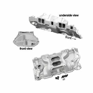 Summit Racing Stage 2 Intake Manifold Chevy Sbc 283 327 350 Fits Stock Heads