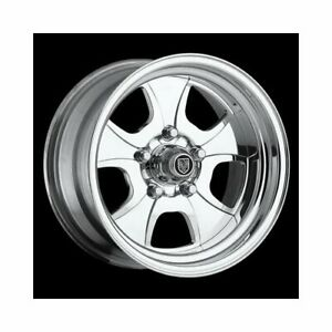 Center Line Wheels Competition Vintage Polished Wheel 17x8 5x4 5 Bc 7377803545