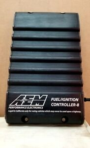 Aem Racing 30 1930 Fic 8 Fuel Ignition Controller 4 8 Cylinder Ecu Piggyback