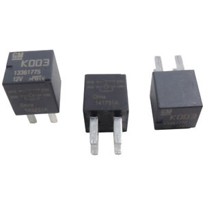 13361775 Relay 3 Pack 4 Pin 12v Ac Delco 13500113