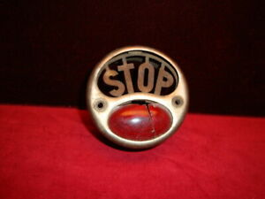 Antique Stop Light For Ford Or Model T Car Duolight