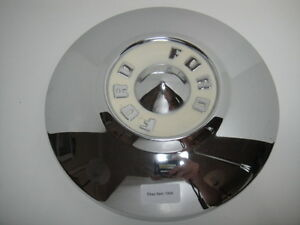1955 56 Ford Thunderbird Fairlane Crown Victoria Hubcap Wheelcover 7009