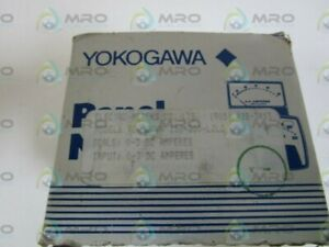 Yokogawa Panel Meter 0 3dc Amps 250 200 ljlj new In Box