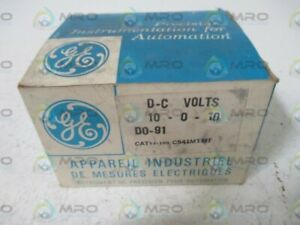 General Electric 53 100 c541mtmt Panel Meter 10 0 10 New In Box