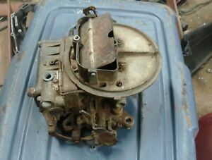 Late 1950 s Ford Holly 2 Barrel Carburetor Parts Or Repair