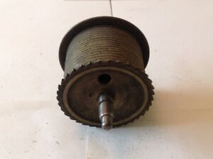 Antique Longcase Grandfather Clock Drive Wheel Cog Weight Driven 54mm