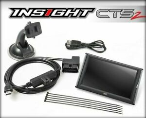 Edge Insight Cts 2 84130 Monitor For Ford Gmc Chevy Dodge Ram Cts2
