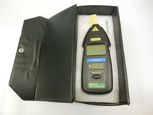 General Lt2234c Digital Non contact Laser Tachometer Free Shipping 12616r