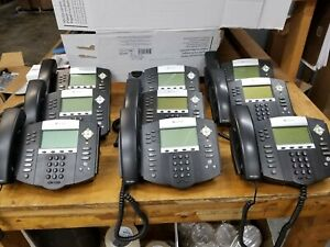 Polycom Soundpoint Ip 650 Ip650 Sip Phones Free Shipping