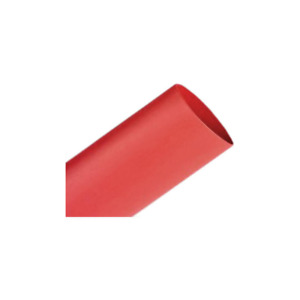 3m Heat Shrink Thin wall Tubing Fp 301 1 16 48 red hdr 25 Pcs 48 In Length St