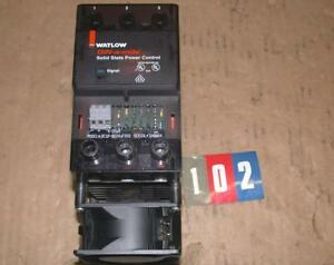 Watlow Dc1p 6524 f002 Din a mite Solid State Power Control Free Ship