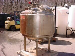 300 Gallon Stainless Steel Pressure Tank 50 Psi No Jacket