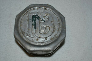 Dodge Brothers Screw On Wheel Hub Grease Cap Aluminum Db 2 1 2 Diameter Opening