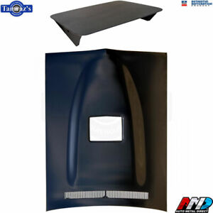 71 74 Dodge Charger Ramcharger Air Induction Steel Hood With Scoop Amd