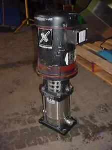 3 Hp Grundfos Multi Stage 1 Inch Stainless Steel Centrifugal Pump Sanitary