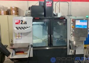 Haas Vf 2ss Machine Is In Great Condition