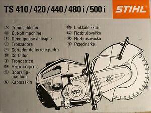 Stihl Ts 420 Ts420 Cutquik 14 Professional 66 7 Cc Gas Powered Concrete Saw
