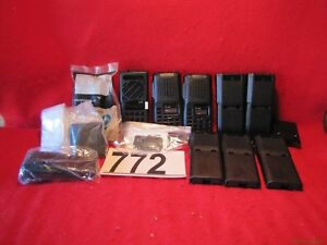 New Lot Of Icom Motorola Maxon 2 way Radio Housing Covers Cases 772