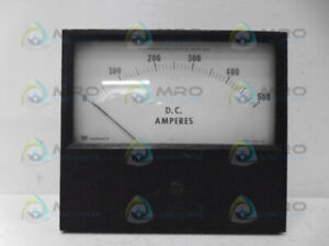 Triplett 420 gl Panel Meter 500dc A used
