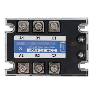 Solid State Relay For Mager Tsr 60da Mgr 3 032 3860z Dc ac Single phase 380vac