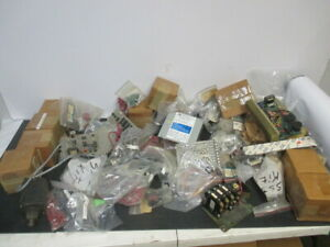Huge Lot Of Assorted Electrical Parts Accessories Transformer Circuit Board
