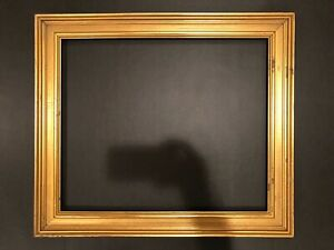 24x20 Contemporary Antique Style Gold Gilt Picture Frame Arts Crafts 19c
