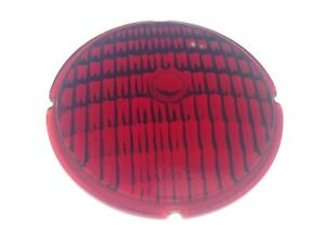 Red Yankee Glass Turn Signal Light Lens Early Truck Bus Lamp Lite