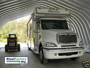 New Steel Factory Mfg A40x80x18 Metal Storage Building Tractor Trailer Storage