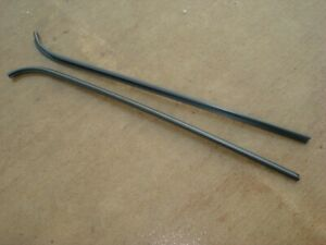 1932 33 34 Ford Pick Up Truck Door drip Rails Beautiful Steel Reproductions