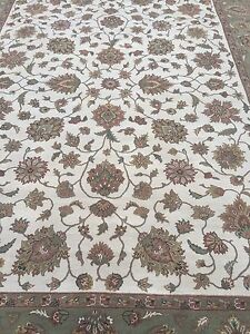Hand Knotted Persian Design India Jaipur Rug 9x12
