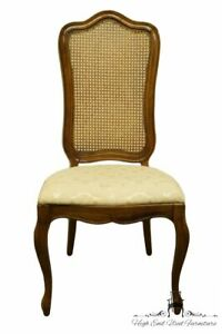 Thomasville Furniture Tableau Collection French Provincial Cane Back Dining S