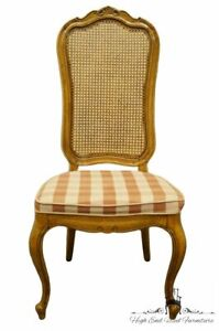 Thomasville Furniture Camille Collection Cane Back Dining Side Chair 11421 873