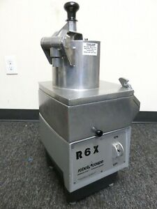 Robot Coupe R6x Commercial Food Processor Nice With Blade