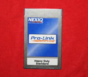Nexiq 804108 Heavy Duty Standard Pro Link Diesel Diagnostic Card Truck Cummins