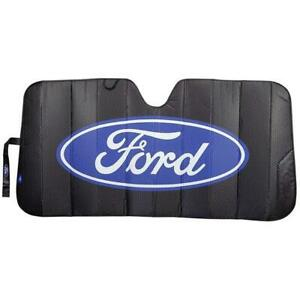 Official License Ford Elite Black Truck Suv Car Windshield Folding Sunshade