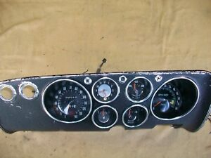 1965 66 67 68 69 Corvair Corsa Monza Spyder Oem Tach And Gauge Dash Cluster