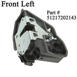 For Bmw E90 E60 Front Left Door Lock Latch Actuator 51217202143 Driver Side
