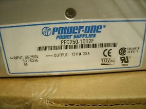 Power one Pfc250 1012f Power Supply