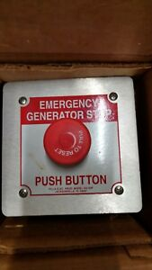 Pilla Gs120fn1rp Emergency Generator Stop free Shipping