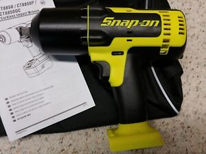 Snap On Ct8850hv 1 2 18 Volt Monsterlithium Ion Impact Wrench Tool Only Bag New