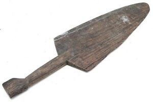 Atq Samoa Solomon Pacific Islands Paddle War Club Carved Wood Polynesian Weapon