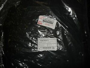 2008 2013 Toyota Highlander Black All Weather Floor Mats Pt908 48g00 02 Oem New