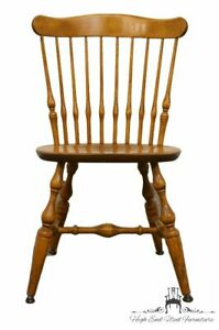 Nichols Stone Solid Maple Spindle Back Dining Side Chair 441 020